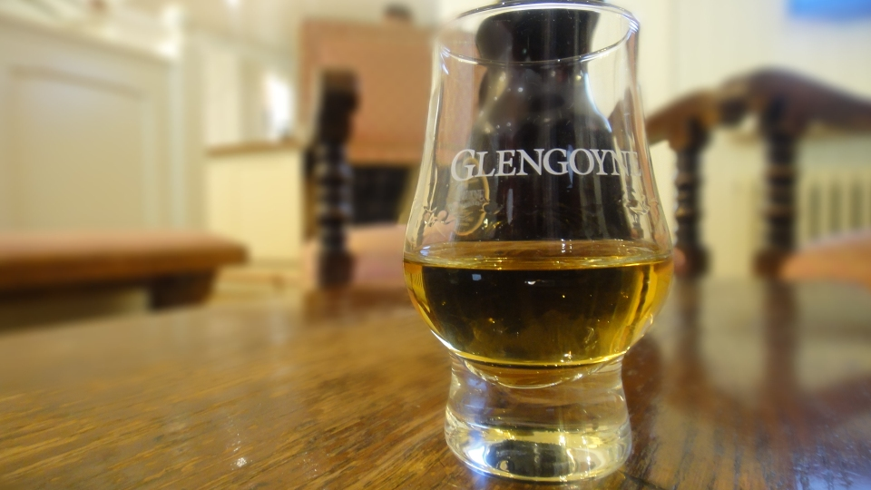 A glass of single malt whiskey